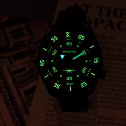 Proxima PX1683 SBDX001 Monoblock NH35 Automatic  ScubaMaster Wristwatch  Pilot dial