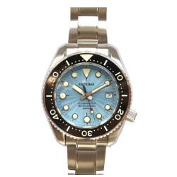 Proxima PX1683 SBDX001 NH35 Tuna Diver Automatic Wristwatch MarineMaster Sapphire insert Blue Wave Dial