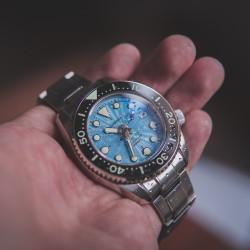 Proxima PX1683 SBDX001 NH35  Diver Automatic Wristwatch MarineMaster Blue Wave Dial