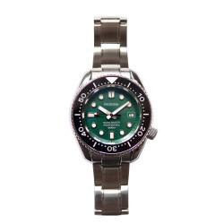 Proxima PX1683 SBDX001 Monoblock NH35 Automatic  ScubaMaster Wristwatch  Brush Metal Green Dial