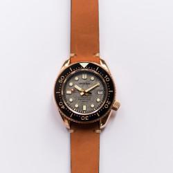 Proxima PX1684 Bronze SBDX001 NH36Tuna Diver Watch Cusn8 Men Mechanical Watches 300M Waterproof Luminous Cusn8 Date-Day Jungle  Dial