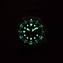 Proxima PX1682 blue dial SBBN017 NH35 Tuna Diver Automatic Wristwatch MarineMaster Wormhole dial