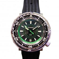 Proxima PX1682 NH36 Tuna Diver Automatic Wristwatch MarineMaster Sapphire insert  Jungle dial