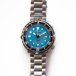 Proxima PX1682 blue dial SBBN017 NH35 Tuna Diver Automatic Wristwatch MarineMaster