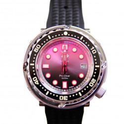 Proxima UD1682 NH35 Tuna Diver Automatic Wristwatch MarineMaster Sapphire insert Blush dial