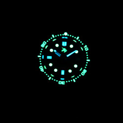 Proxima UD1682 NH35 Tuna Diver Automatic Wristwatch MarineMaster Sapphire insert  Abyssal dial