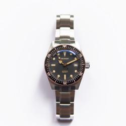 Proxima PX1680 Diver Watch Men Mechanical Watches 200M Waterproof Luminous 2021 Sport Relojes  6200 black Dial