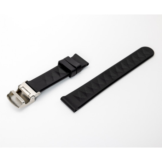 Proxima New Design 20mm Watch Strap 316L Clasp No-Pinhole Stepless Adjustment Strap