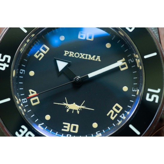 proxima PX02 J20 NH35 Tuna Diver Automatic Wristwatch MarineMaster