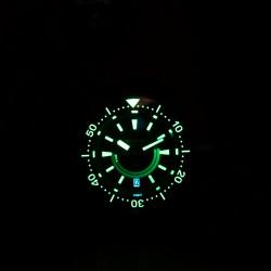 Proxima PX1685 Bronze Samurai Soil/Earth NH36  Diver Automatic Wristwatch Jungle Date-Day Dial