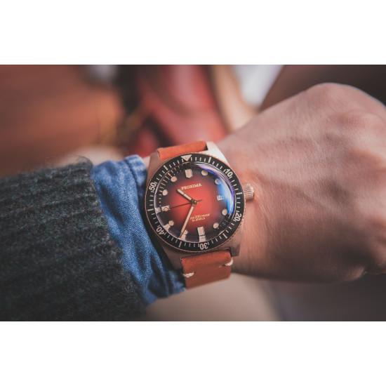 Proxima PX1681  CuSn  Diver Watch Men Mechanical Watches 200M Waterproof Luminous 2021 Sport Relojes Orange Dial