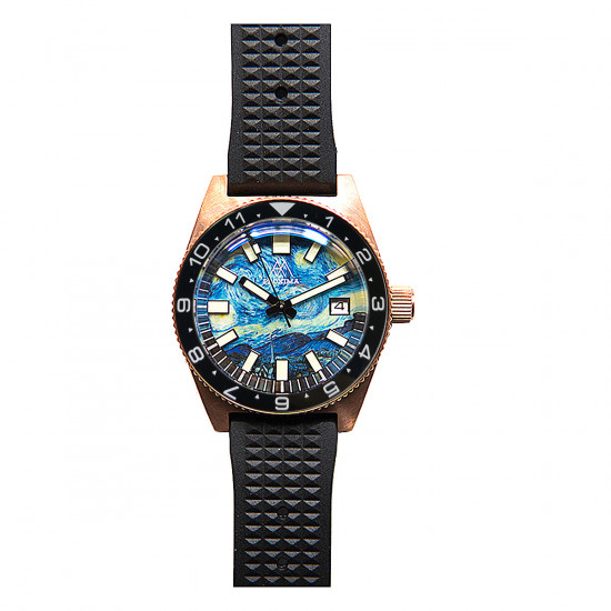 Proxima PX1681  CuSn  Diver Watch Men Mechanical Watches 200M Waterproof Luminous 2021 Sport Relojes 6200 black Dial